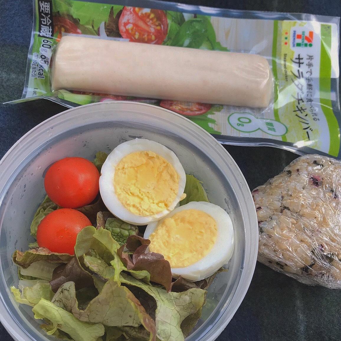コンビニダイエット食事例@福岡パーソナルトレーニングジム