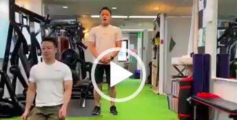 【福岡天神店】胸椎の回旋と肩甲骨の動きを良くするトレーニング