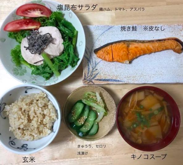 【福岡南区店】ダイエット・ボディメイク食事例(2020.7.16)