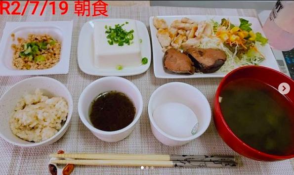 【福岡天神店】ダイエット・ボディメイク食事例(2020.7.20)