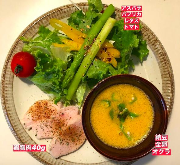 【西新パーソナルジム 】吉川トレーナーの朝食例(2020.7.6)