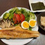 高タンパク低脂質で野菜もたっぷりバランスの良いダイエットボディメイク食事例