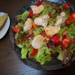 高タンパク低脂質、野菜たっぷりのバランス良いダイエットボディメイク食事例