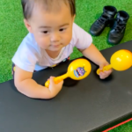0歳赤ちゃんもひろびろ個室ですのでOKです@福岡東区パーソナルトレーニングジム