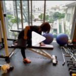 女性ができるペットボトルの筋トレ(福岡パーソナルトレーニングジム)