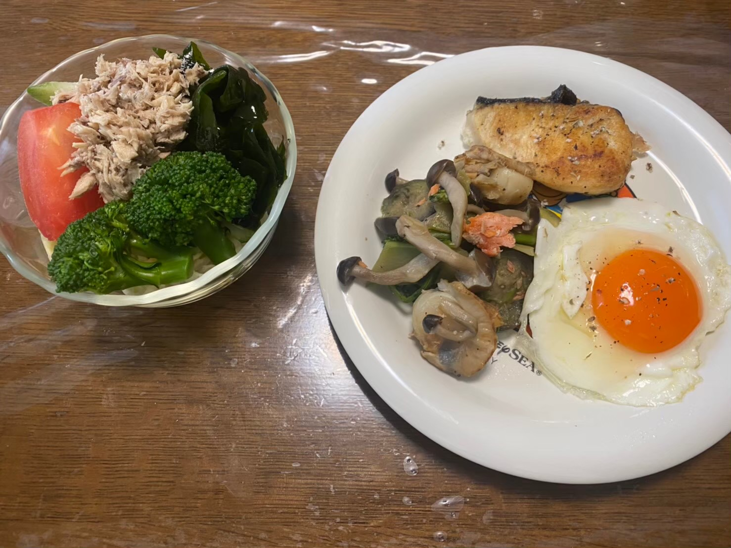 食事の量は「朝>昼>夜」を意識(ダイエットボディメイク食事例)