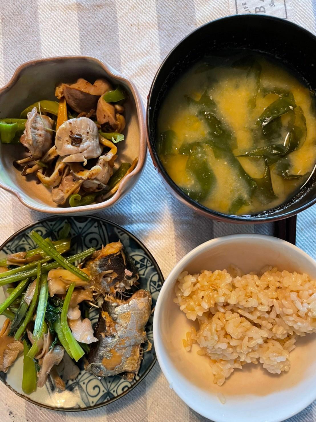 ダイエットするなら、副菜として野菜・きのこ等をしっかりと