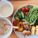 彩豊かでテンションあがるダイエットボディメイク朝食例