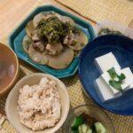 大根と鶏肉の煮物(ダイエットボディメイク食事例)